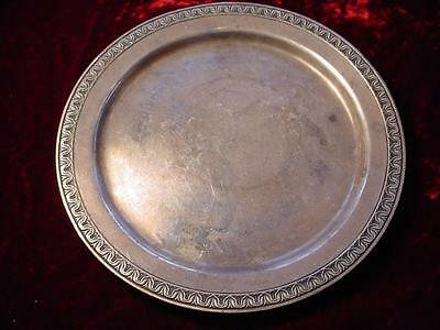 1941 Hotel Silver soldered bread & butter plate Highland Hotel