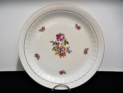 "Stunning East German Democratic Republic Porcelain Charger Plate Cp 11.3/4"" Vtg"