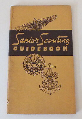 VINTAGE 1946 SENIOR SCOUTING GUIDEBOOK by THE BOY SCOUTS OF AMERICA BOOKLET