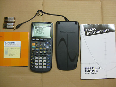 TI-83 PLUS Texas Instruments  Graphing Calculator