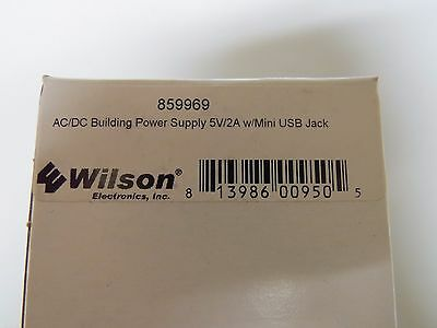 Wilson 859969 AC/DC Power Supply 5V/2A for Mobile Pro and Sleek 859969