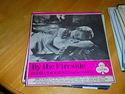 Lp/ Frank Chacksfield Orchestra /by The Fireside (1962 Mono Decca Ace Of Clubs M