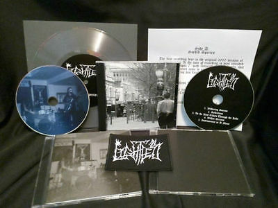 """LIGHTLESS Sordid Species pro-CDR ambient album rehearsal lathe-cut 7"""" limited 20"""