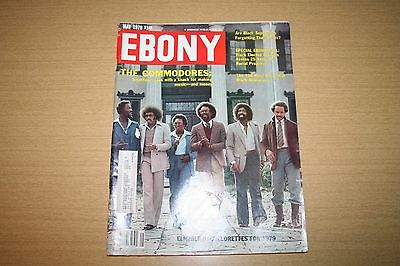 Vintage Ebony Magazine May 1979 featuring The Commodores