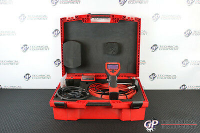 Rothenberger Roscope 1000 Videoscope Borescope Flaw Detector Olympus Iplex NDT