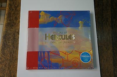 VINTAGE New HC Sealed Copy The Art of Hercules: Chaos of Creation by S. Rebello
