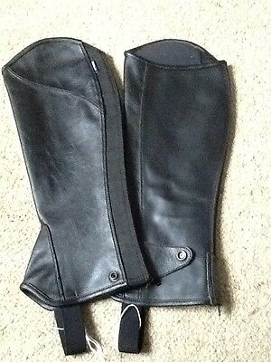 dublin chaps leather size small