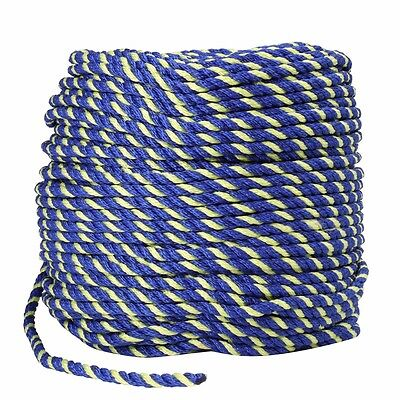 Polyethylene Rope 6mm x 100m Coil Boating/Fishing Lobster/Crab Pot w/ 3 strands