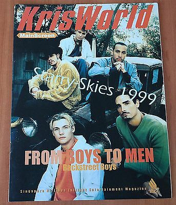 Singapore Airlines Kris World Backstreet Boys Cover Aug.1999 Inflight Magazine