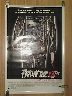 Friday The 13Th (1980) Rolled Original Us 1-Sheet Horror Movie Poster 27X40