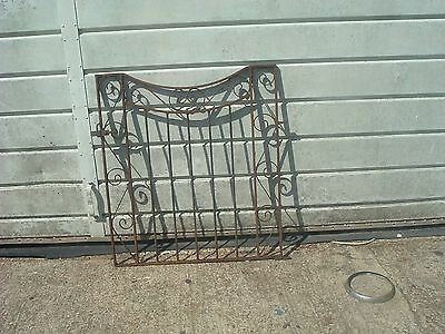Wrought iron gate, needs cleaning up and painting