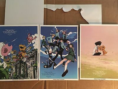 Digimon Adventure Tri - Set of 3 High Quality Prints