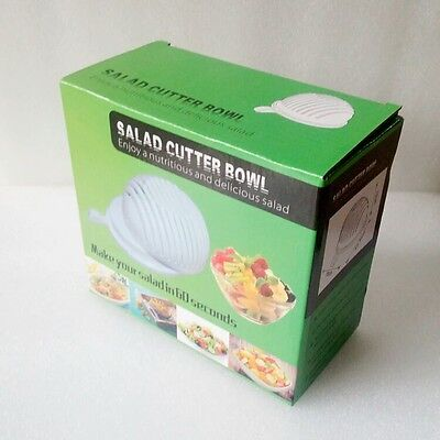 FREE SHIPPING 60 second salad maker Healthy fresh salads made easy