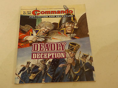 Commando War Comic Number 3978!!,2007,v Good For Age,10 Years Old Issue,v Rare.