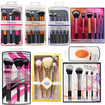 New Real Techniques Makeup Brushes Core Collection/Travel Essentials/Starter UK
