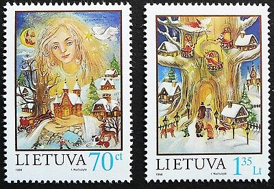 Lithuania stamps - Christmas_1998 - MNH.