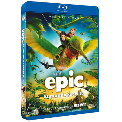 Epic el Mundo Secreto BluRay (SP)