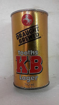 Tooths KB Lager 740ml Beer Can