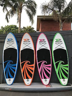 Super Strong Double Layer Inflatable 8' Kids SUP Stand Up Paddle Board