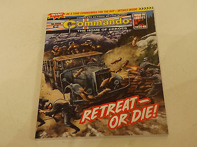 Commando War Comic Number 4939!!,2016,v Good For Age,01 Year Old Issue,v Rare.