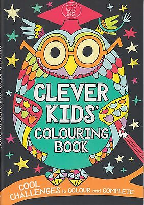 Clever Kids' Colouring Book BRAND NEW BOOK by Chris Dickason (Paperback 2013)