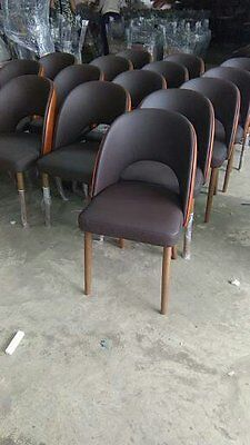 Natural leather chairs for restaurant seating, kitchen, dining room, cafe, bar