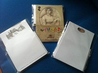 JANE AUSTEN WRITING PAPER PACK - RRP - £6.99 You only get 1 pack