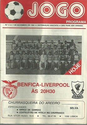 BENFICA v Liverpool (European Cup) 1984/5