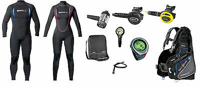 Mares Holiday Set con Manta 2,2 mm Anzug Equipo de buceo Set buceo Set completo