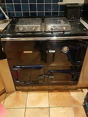 Rayburn nouvelle mains Gas Stove and boiler