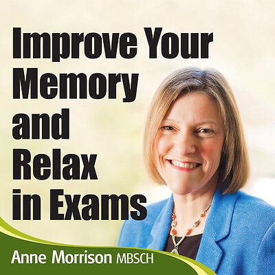 Improve your Memory Self Help Hypnosis CD Audio New UK Hypnotherapy Relief Guide