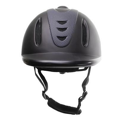 Breathable Vented Western Safety Low Profile Horse Riding Helmet Protector L