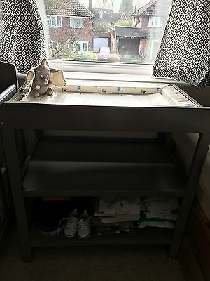 Baby O'baby Changing Unit, Dark Grey, Not Used