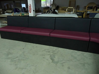 Booth bench sofa for restaurant, bar, cafe, commercial furniture