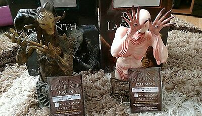 Pale Man and Faun Bust SDCC 2010 (Pan's Labyrinth) Gentle Giant no Sideshow