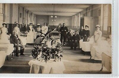 Real Photograph of a Hospital  ward No 3 ProsthyiticsWard Dr Frazier Dr Campbell