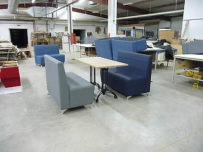 Booth bench sofa, commercial seating, for restaurant, bar, cafe