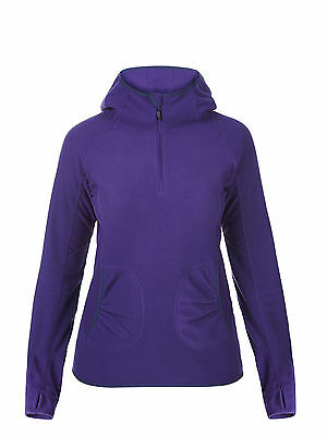 Berghaus Womens Prism Outdoor Hiking Microfleece II H/Z in Purple **RRP £40.00**