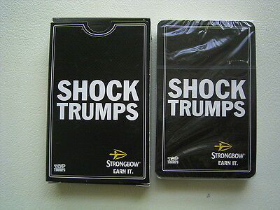 Strongbow Shock Trumps Cards Sealed Set