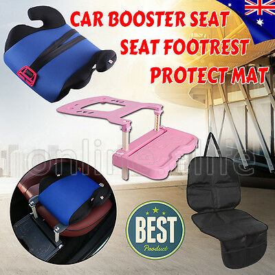 Kid Baby Child Car Booster Seat Safety Footrest Pedal Protector Anti-Slip Mat OZ