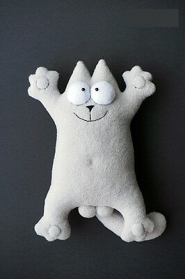 Simon's Cat soft toy gift present high quality cartoon funny