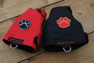 Mynwood Cat Walking Jacket Harness Vest Holster THE PAW PROJECT