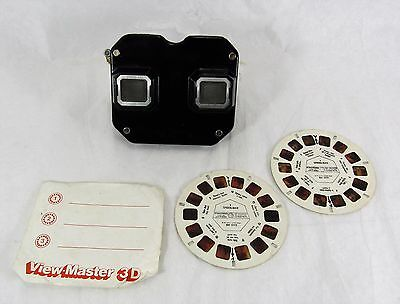 Vintage Bakelite Sawyer's View Master with 2 x 1977 Super-man Reels