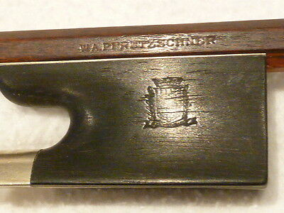 Private COLLECTION to SELL - 99: A old German VIOLIN BOW by *W.A.Pfretzschner*