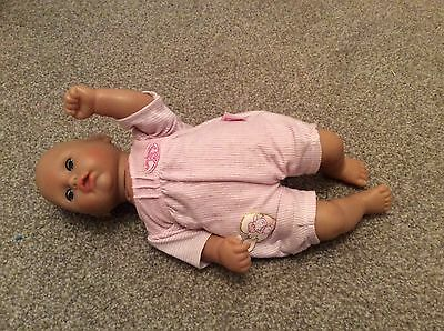 14 Inch Moving Baby Annabel, Put Her On Her Front Or Back And She Moves