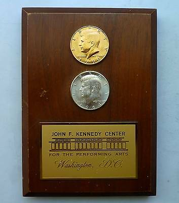 John F.Kennedy Washington DC - For The Performing Arts 2 Münzen in Gold & Silber