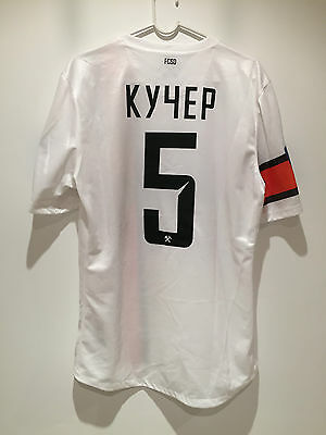 Shakhtar Donetsk 13/14 Match Worn Shirt Kucher Ukranian league Trikot Maglia