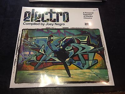 Electro Compiled By Joey Negro 2-Lp New Mint Sealed 2017