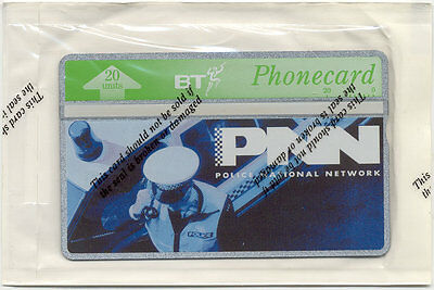 Mint Sealed BT Phonecard Police National Network Cat. no. BTI198