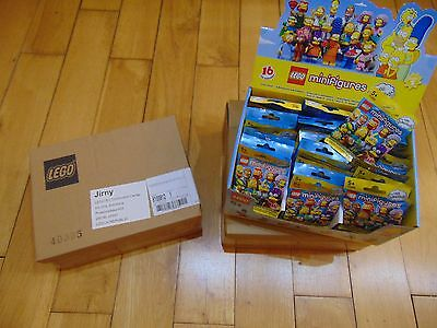 RETIRED LEGO Simpsons Series 2 Minifigures 60 PACKS *71009*  FACTORY SEALED BOX
